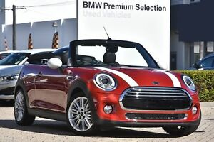 2016 Mini Convertible F57 Cooper Red 6 Speed Automatic Convertible Victoria Park Victoria Park Area Preview