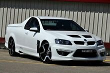 2010 Holden Special Vehicles Maloo E3 R8 White 6 Speed Automatic Utility Homebush Strathfield Area Preview
