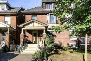 Recently Renovated 4 Bedroom Semi-Detached Home In Oakwood Ave