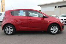 2014 Holden Barina TM MY14 CD Velvet Red 5 Speed Manual Hatchback Wilston Brisbane North West Preview