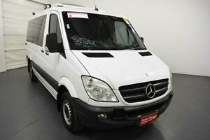 2012 Mercedes-Benz Sprinter NCV3 MY12 316CDI Low Roof MWB 7G-Tronic White Sports Automatic Van Moorabbin Kingston Area Preview