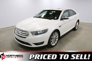 2016 Ford Taurus LIMITED Leather,  Sunroof,  Back-up Cam,
