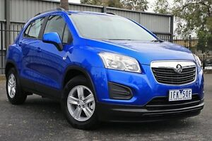 2015 Holden Trax TJ MY16 LS Boracay Blue 6 Speed Automatic Wagon Oakleigh Monash Area Preview
