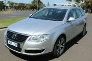 2007 Volkswagen Passat Type 3C MY08 TDI DSG Silver 6 Speed Sports Automatic Dual Clutch Wagon West Footscray Maribyrnong Area Preview