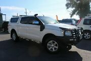 2011 Ford Ranger PX XLT Double Cab White 6 Speed Manual Utility Tingalpa Brisbane South East Preview