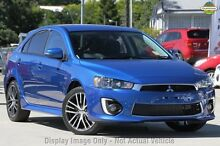 2015 Mitsubishi Lancer CF GSR Sportback Lightning Blue 6 Speed CVT Auto Sequential Hatchback Yeerongpilly Brisbane South West Preview