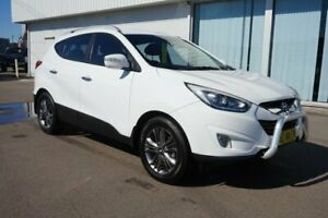2014 Hyundai ix35 LM3 MY14 Elite AWD White 6 Speed Sports Automatic Wagon Cardiff Lake Macquarie Area Preview