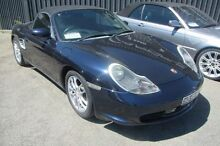 2004 Porsche Boxster 986 MY04 Blue 5 Speed Sports Automatic Convertible Wangara Wanneroo Area Preview