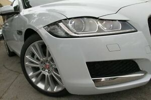 2016 Jaguar XF X260 MY17 20D Prestige White 8 Speed Automatic Sedan Petersham Marrickville Area Preview