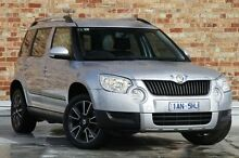 2012 Skoda Yeti 5L MY13 77TSI Silver 6 Speed Manual Wagon North Melbourne Melbourne City Preview