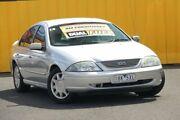 2002 Ford Falcon AU III Forte Silver 4 Speed Automatic Sedan Cheltenham Kingston Area Preview
