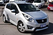 2010 Holden Barina Spark MJ MY11 CDX Silver 5 Speed Manual Hatchback Myaree Melville Area Preview