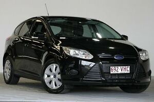 2014 Ford Focus LW MK2 Upgrade Ambiente Black 6 Speed Automatic Hatchback Coopers Plains Brisbane South West Preview