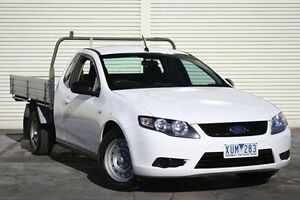 2010 Ford Falcon FG Super Cab White 6 Speed Sports Automatic Cab Chassis Seaford Frankston Area Preview