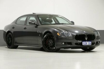 2012 Maserati Quattroporte MY11 Sport GT-S MC Sportline Grey 6 Speed Automatic Sedan Bentley Canning Area Preview