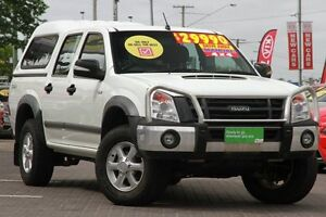 2011 Isuzu D-MAX MY11 LS-M White 5 Speed Manual Utility Moorooka Brisbane South West Preview
