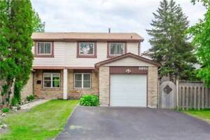Mississauga 3 Bed 3 Bath Semi-Detached Derry/Winston Churchill