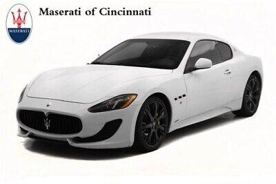 2014 Maserati Gran Turismo Sport 2014 Maserati GranTurismo Sport 28244 Miles Bianco Eldorado 2dr Car Premium Unle