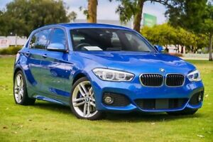 2017 BMW 1 Series F20 LCI 125i M Sport Blue 8 Speed Sports Automatic Hatchback