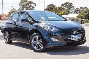 2015 Hyundai i30 GD3 Series II MY16 Active X Black 6 Speed Sports Automatic Hatchback Embleton Bayswater Area Preview