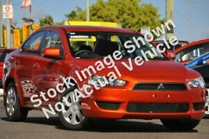 2012 Mitsubishi Lancer CJ MY12 ES Orange 5 Speed Manual Sedan Nailsworth Prospect Area Preview