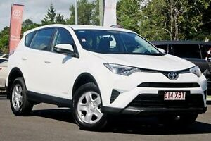 2016 Toyota RAV4 ALA49R GX AWD Glacier White 6 Speed Sports Automatic Wagon Monkland Gympie Area Preview