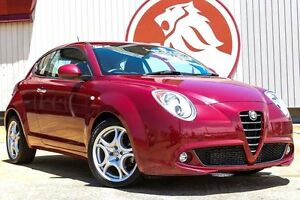 2013 Alfa Romeo Mito Series 2 Progression TCT Burgundy 6 Speed Sports Automatic Dual Clutch Lansvale Liverpool Area Preview