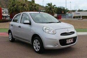 2014 Nissan Micra K13 MY13 ST Silver 5 Speed Manual Hatchback Townsville Townsville City Preview
