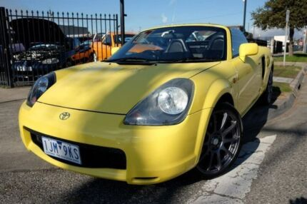 2001 Toyota Mr2 ZZW30R Spyder Yellow 5 Speed Seq Manual Auto-Clutch Convertible Dandenong Greater Dandenong Preview