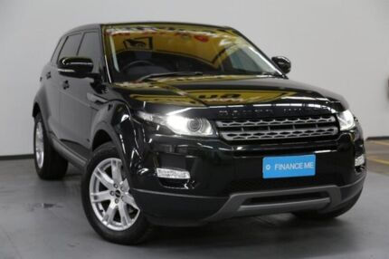 2011 Land Rover Range Rover Evoque L538 MY12 TD4 CommandShift Pure Black 6 Speed Sports Automatic