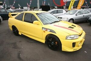 2003 Mitsubishi Lancer CE2 MY02.5 GLi Yellow 5 Speed Manual Coupe Kingsville Maribyrnong Area Preview