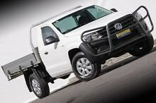 2014 Volkswagen Amarok 2H MY14 TSI300 White 6 Speed Manual Cab Chassis Ferntree Gully Knox Area Preview