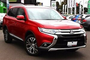 2015 Mitsubishi Outlander Red Constant Variable Wagon Nunawading Whitehorse Area Preview