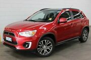 2016 Mitsubishi ASX XB MY15.5 XLS 2WD Red 6 Speed Constant Variable Wagon Burnie Area Preview