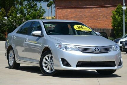 2014 Toyota Camry ASV50R Altise Silver 6 Speed Sports Automatic Sedan