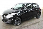 2016 Suzuki Swift FZ MY15 GLX Navigator Black 4 Speed Automatic Hatchback Burnie Area Preview