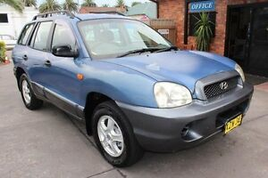 2002 Hyundai Santa Fe GL (4x4) Blue 5 Speed Manual Wagon Hamilton Newcastle Area Preview