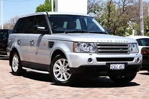 2006 Land Rover Range Rover Sport L320 06MY TDV6 Silver 6 Speed Sports Automatic Wagon Osborne Park Stirling Area Preview