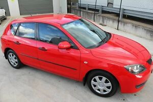 2006 Mazda 3 BK10F2 Neo Red 4 Speed Sports Automatic Hatchback Mitchell Gungahlin Area Preview
