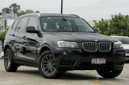 2011 BMW X3 F25 MY1011 xDrive28i Steptronic Black 8 Speed Automatic Wagon
