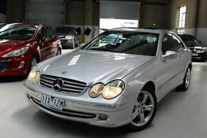 2003 Mercedes-Benz CLK240 C209 Elegance Silver 5 Speed Automatic Coupe Knoxfield Knox Area Preview