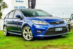 2010 Ford Focus LV Mk II XR5 Turbo Blue 6 Speed Manual Hatchback