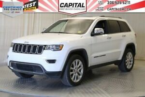 2017 Jeep Grand Cherokee Limited 4WD*V6^*Leather*Sunroof*