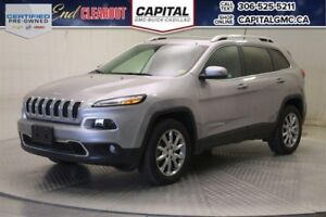 2017 Jeep Cherokee Limited 4WD*Sunroof*Leather*