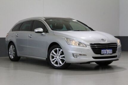 2013 Peugeot 508 MY13 Allure HDI Touring Grey 6 Speed Automatic Wagon Bentley Canning Area Preview