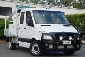 2012 Mercedes-Benz Sprinter NCV3 MY12 316CDI MWB White 5 Speed Automatic Cab Chassis Acacia Ridge Brisbane South West Preview