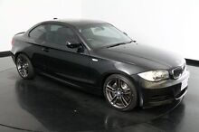 2010 BMW 135I E82 MY10 Sport Steptronic Black 6 Speed Sports Automatic Coupe Victoria Park Victoria Park Area Preview