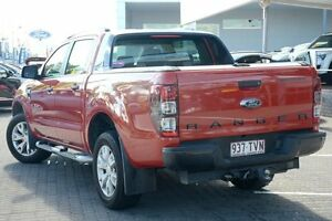 2014 Ford Ranger PX Wildtrak Double Cab Orange 6 Speed Sports Automatic Utility Moorooka Brisbane South West Preview