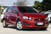 2012 Holden Barina TM MY13 CD Red 5 Speed Manual Hatchback Kedron Brisbane North East Preview