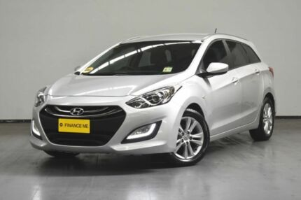 2013 Hyundai i30 GD Active Tourer Silver 6 Speed Sports Automatic Wagon Brooklyn Brimbank Area Preview
